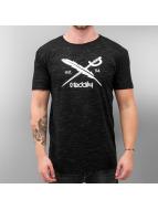 Iriedaily T-Shirt Mesh Flag schwarz
