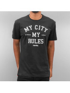 Iriedaily T-Shirt My City schwarz