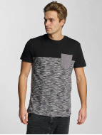 Iriedaily T-Shirt Space Slub Pocket schwarz