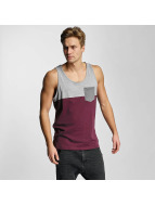 Iriedaily Tank Tops Block Pocket rot