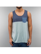 Iriedaily Tank Tops Block Pocket türkis