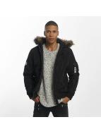 Jack & Jones Зимняя куртка jjcoCarter черный