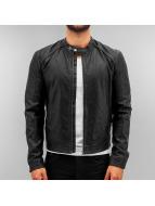 Jack & Jones Кожаная куртка jorOriginal черный