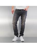 Jack & Jones Облегающие джинсы jjiTim jjLeon серый