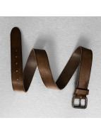 Jack & Jones Belts jjiJakob Leather brun