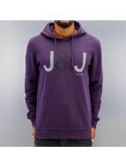 Jack & Jones Bluzy z kapturem jcoEdwin fioletowy