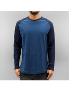 Jack & Jones Camiseta de manga larga jorNew Stan azul