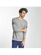 Jack & Jones Camiseta de manga larga jcoRonur gris