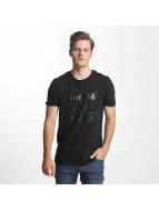 Jack & Jones Camiseta jcoGrid negro
