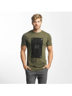 Jack & Jones Camiseta jcoPop oliva