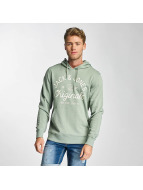 Jack & Jones Felpa con cappuccio jorTropical verde