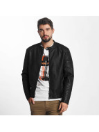 Jack & Jones Giacca in pelle jcoTano nero