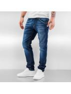 Jack & Jones Jeans Straight Fit jjiGlenn jjFox bleu