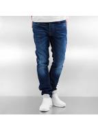 Jack & Jones Jeans Straight Fit jjiTim jjOriginal bleu