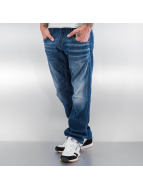 Jack & Jones Jeans Straight Fit jjBoxy jjLeed bleu
