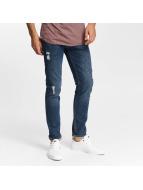 Jack & Jones Jeans Straight Fit jjiTim jjOriginal AM 419 bleu