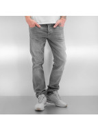 Jack & Jones Jeans Straight Fit jjiClark gris
