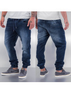 Jack & Jones joggingbroek Mike Drew blauw