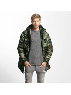 Jack & Jones Kış ceketleri jorMilitary camouflage