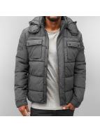 Jack & Jones Kış ceketleri Grary Puffer gri