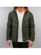 Jack & Jones Kış ceketleri jorBomb Puffer zeytin yeşili