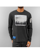 Jack & Jones Longsleeve Lost blau