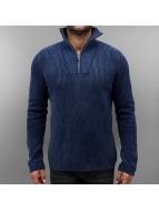 Jack & Jones jorArnold Knit Zip High Neck Sweatshirt Navy Blazer