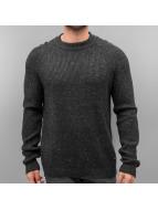 Jack & Jones jorAnvarton Knit Sweatshirt Dark Grey Melange