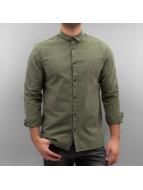 Jack & Jones overhemd jcoWeel olijfgroen