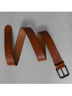 Jack & Jones Paski jacSpencer Leather brazowy