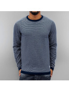 Jack & Jones Pullover jjcoChris Knit blau