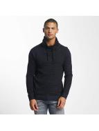Jack & Jones Pullover jcoTaoma Knit High Neck blau