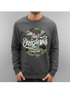 Jack & Jones Pullover jjorMagic grau