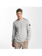 Jack & Jones Pullover jcoUtility Knit gris
