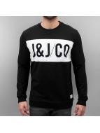 Jack & Jones Pullover jjcoAron noir