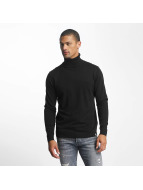 Jack & Jones Pullover rLinking Knit Roll Neck schwarz