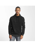 Jack & Jones Pullover jcoTaoma Knit High Neck schwarz
