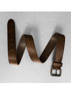 Jack & Jones riem jjiJakob Leather bruin