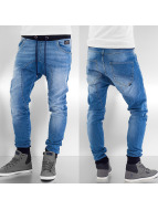 Jack & Jones Skinny Jeans Gavin niebieski