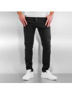 Jack & Jones Slim Fit Jeans jjIluke jjEcho JOS 999 èierna