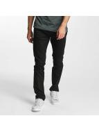 Jack & Jones Slim Fit Jeans jjiTim jjOriginal èierna