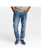 Jack & Jones Slim Fit Jeans jjiTim jjOriginal AM420 blauw