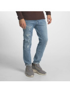 Jack & Jones Slim Fit Jeans jjItim jjOriginal modrá