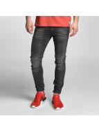 Jack & Jones Slim Fit Jeans jjiGlenn jjJax zwart