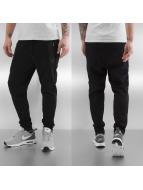 Jack & Jones Spodnie do joggingu jjcoStad Tigh czarny