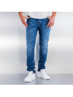 Jack & Jones Straight Fit Jeans jjiTim jjOriginal blå