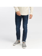 Jack & Jones Straight Fit Jeans jjiTim jjOriginal AM 421 blå