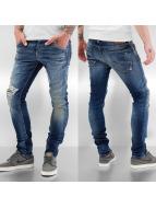 Jack & Jones Straight Fit Jeans Glenn Fox blau