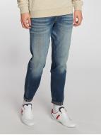 Jack & Jones Straight Fit Jeans Mike modrý