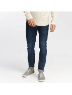 Jack & Jones Straight Fit Jeans jjiTim jjOriginal AM 421 modrý